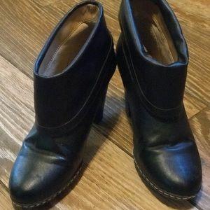 Merona Black Booties w/ Heels. Size 6.5